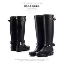 Schoen Laarzen Hoge Ridder Laarzen Met Lange Water Schoenen Laarzen Laarzen(China)