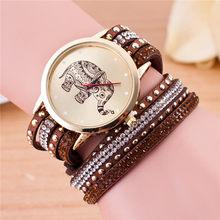 Letnia sukienka w stylu boho na co dzień ręcznie robiona bransoletka przyjaźni dla nowożeńców zegarek damski ręcznie tkany zegarek damski kwarcowy(China)