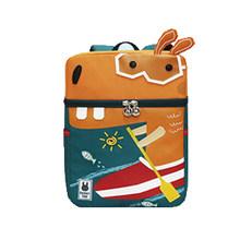 Anak Ransel Cute 3D Kartun Dinosaurus Anti-Lost Unicorn Dicetak TK Ortopedi Sekolah untuk Gadis Anak Laki-laki Anak Mochila(China)