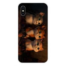 Shrek Puss In Boots Voor Xiaomi Redmi Note 2 3 3S 4 4A 4X5 5A 6 6A pro Plus TPU Transparant Shell Case(China)