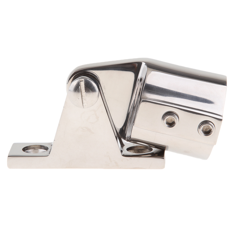 accesorio superior con pasador de liberaci/ón r/ápida par de bisagras de cubierta de dosel Bimini para barco piezas marinas de acero inoxidable Bisagra de cubierta
