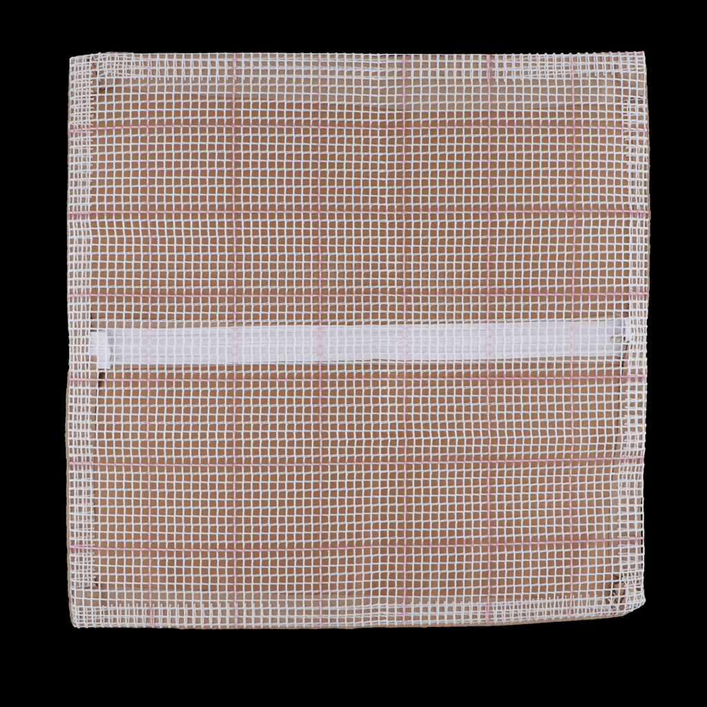 43x43cm Blank Latch Hook Rug DIY Pillow Cushion Cover For Kids Beginners