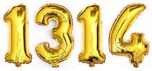 1pc 90cm super grande número da folha de alumínio balões 0-9 aniversário festa de aniversário decoração globo crianças figura bola de ar suprimentos(China)