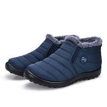 Winter stiefel frauen schuhe 2019 mode plüsch innen warme schnee stiefel frauen einfarbig elastische band frauen schuhe damen plus größe(China)