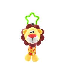 1 Pza bebé niños Bearoom sonajero juguetes de dibujos animados animales de peluche campana de mano cochecito de bebé cuna colgante sonajeros juguetes cama infantil colgante regalo(China)