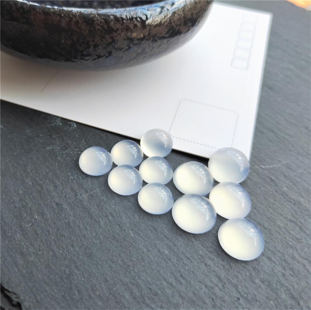 20PCS Jewelry Oval Multi-Pattern Glass Cabochons Dome Flatback Embelishments