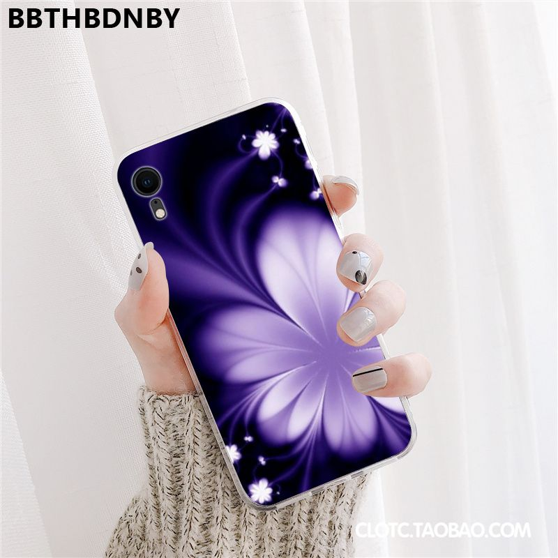 For iPhone XR Print Painted Cover