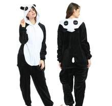 חדש למבוגרים 'חתול פנדה Onesies ורוד PantherAnimal חורף ארנב סטיץ פיג' מה הלבשת תלבושות סרבל חליפת Kigu(China)