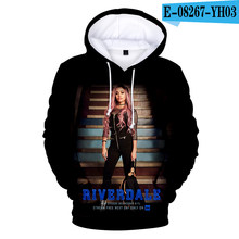 New Arrive 3D Riverdale Hoodies Men Women Sweatshirts Harajuku Hoodie Casual Kids Tops Print Riverdale boys girls pullovers(China)