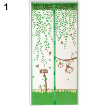 Durable Hands-Free Soft Magnetic Room Dividers Curtains Screens Anti Mosquito Partition Divider Screens Mesh Room Curtain Decor(China)