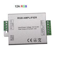 DC12V-24V LED RGBW/RGB wzmacniacz 12A 24A 30A 3CH 4CH wyjście RGBW/RGB LED pasek światła wzmacniacz mocy sterownik konsoli(China)