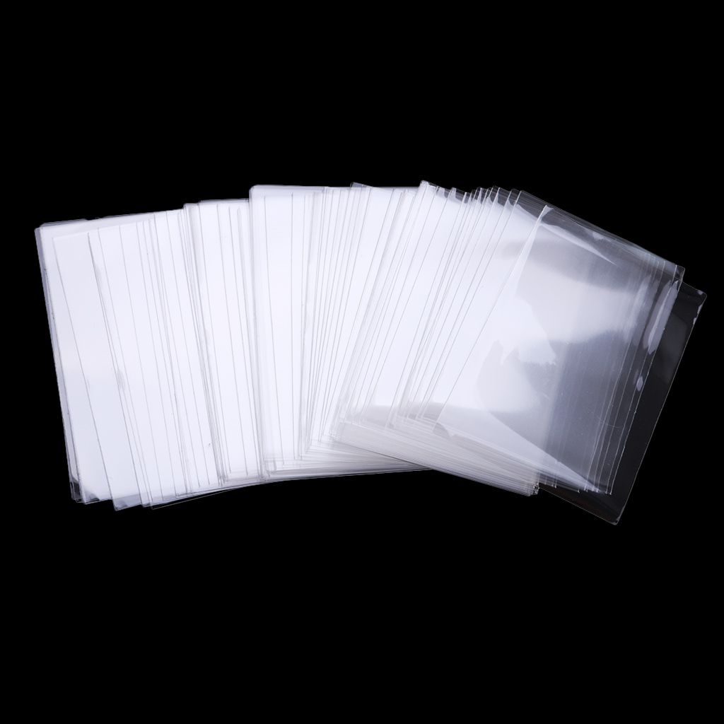 100pcs Protective Cards Protective Bank Protector Card Gifts Clear Sockets