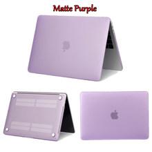 קריסטל מט מחשב נייד מקרה עבור Macbook Air 13 Pro 15 רשתית 11 12 אינץ עם מגע בר חלבית כיסוי A1706 a1707 A1990 A1932 A2159(China)