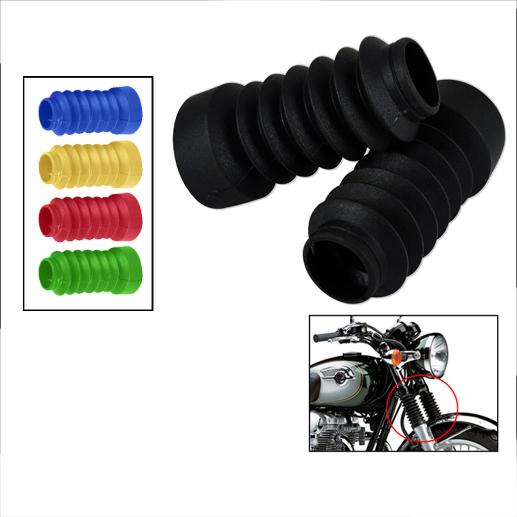2 pieces 103mm Motorcycle Rubber Fork Shock Boots Gaiters Dust Cover 103mm for Yamaha Jog 50cc 90cc Dropshipping