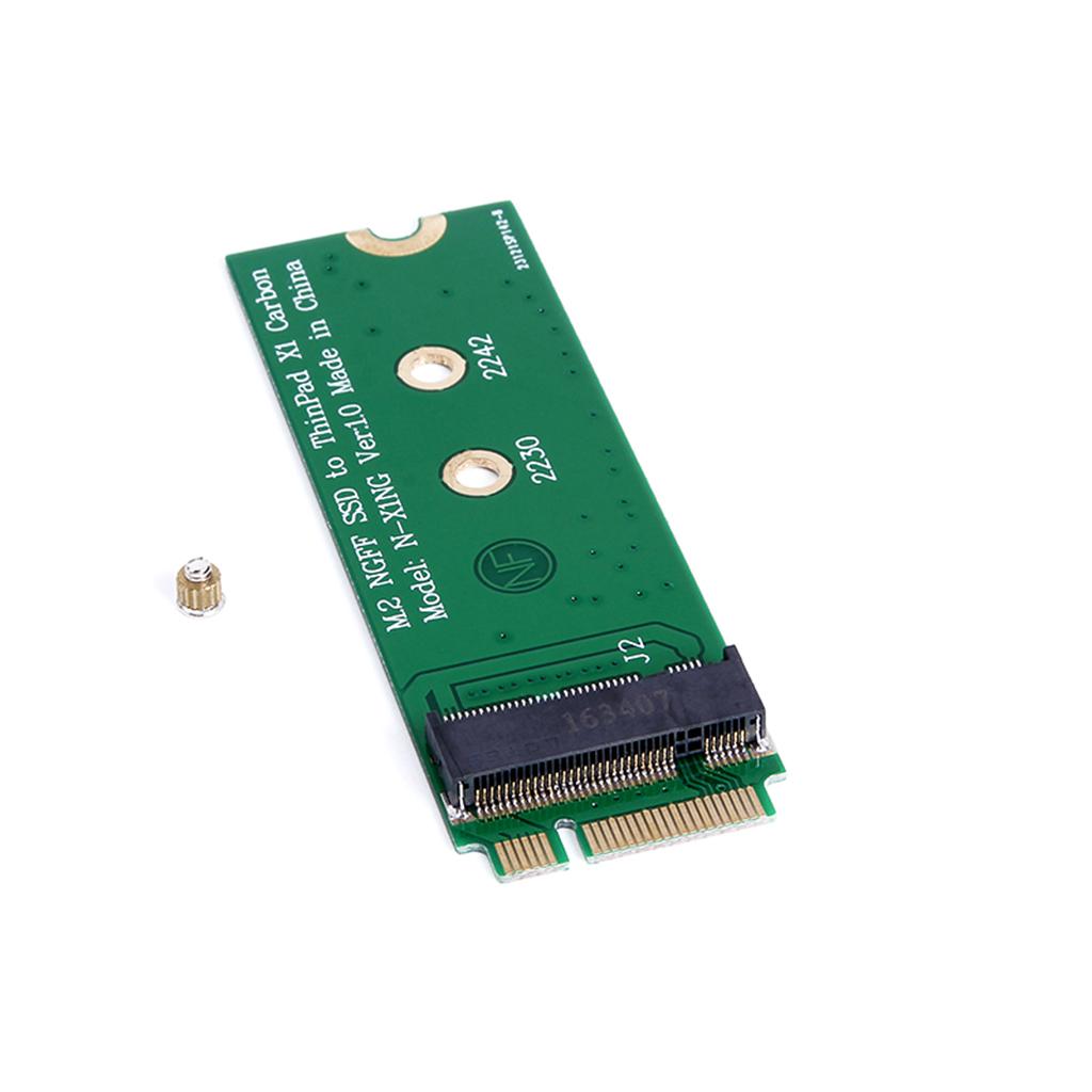 M.2 NGFF SATA SSD to 20+6 Pin 26 Pin Adapter for Lenovo ThinkPad X1 Carbon