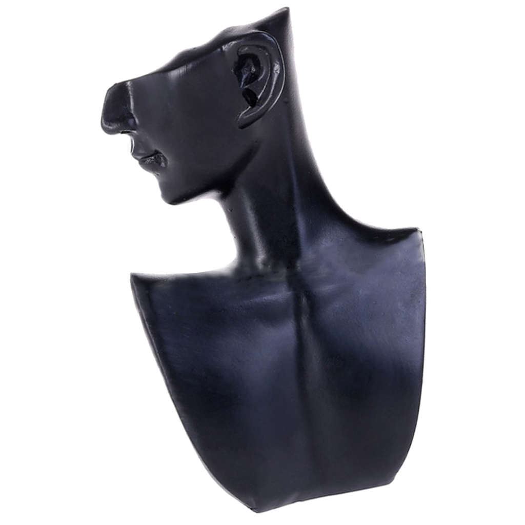 earring display stand Resin Female Mannequin Head Bust Stand Model Shop Jewelry Necklace Display show case