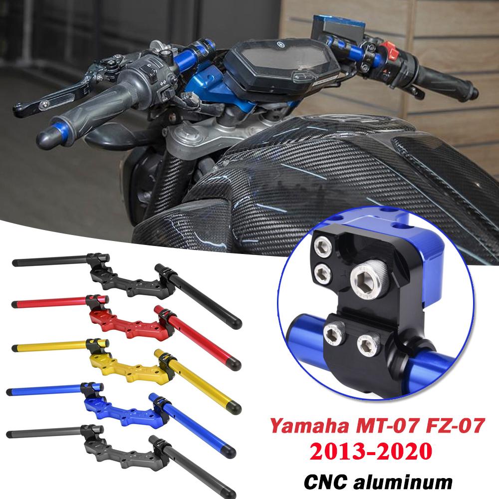 STORM Blue CNC Bar End Weights For Yamaha MT-07 FZ-07 2014-2017
