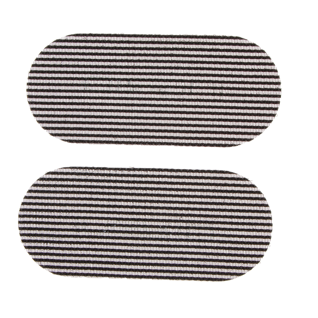 2pcs Front Hair Fringe Bang Holder Stabilizer Beauty Makeup Sticker Pad Patches Hair Styling Accessories