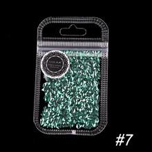 12 色ネイルグリッターフレークキラキラ 3D カラフルなスパンコールスパンコールポリッシュマニキュアプロフェッショナル装飾 TSLM2(China)