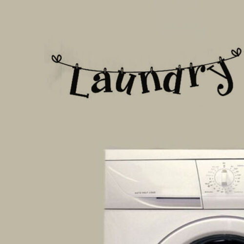Laundry-Wall-Quote-Decal-Vinyl-Stickers-Lettering-Art-Modern-Laundry-Room-Decor