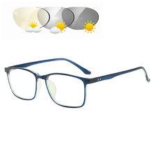 Прозрачные оптические очки для мужчин оправа синий свет Блокировка оправа для очков от близорукости TR90 рецепт фотохромные очки Рамка NX(Китай)