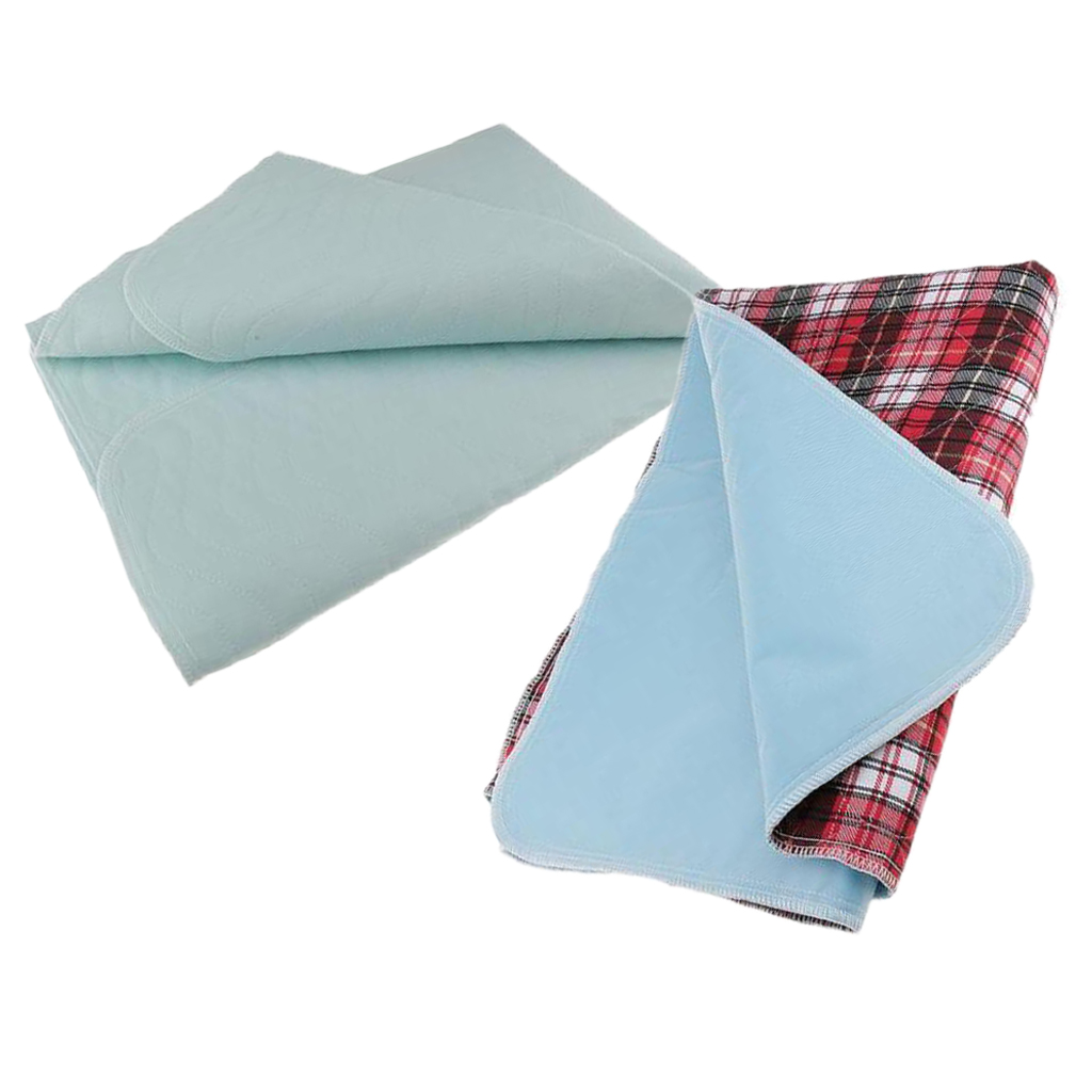2x Adult Elderly Kids Waterproof Washable Underpad Incontinence Bedwetting Bed Pad Absorbent Sheet Matress Pee Protector 45x60cm