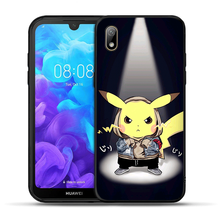 Phone Case For Honor 7A Pro 8S P Smart Z Cute Pika Marvel Deadpool Cover For Huawei Y5 Lite Y6 Prime 2018 2019 Y7 Y9 Prime 2019(China)