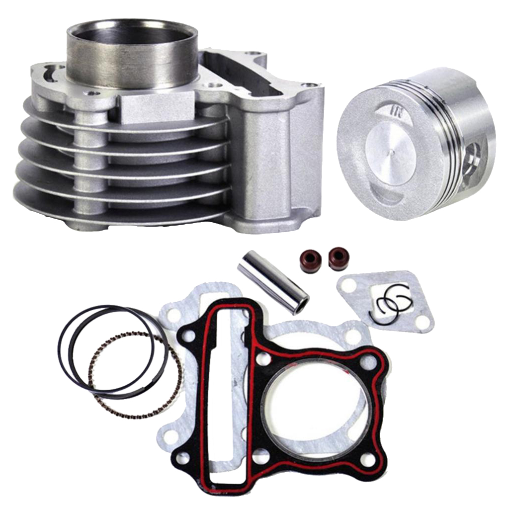 Performance 47mm Big Bore Cylinder Kit for GY6 80cc 139QMB ATV