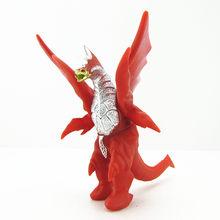 11CM Gojira Anime dibujos animados película Ultraman dinosaurio monstruos figura de acción coleccionable PVC suave modelo niño juguetes para niños regalo(China)