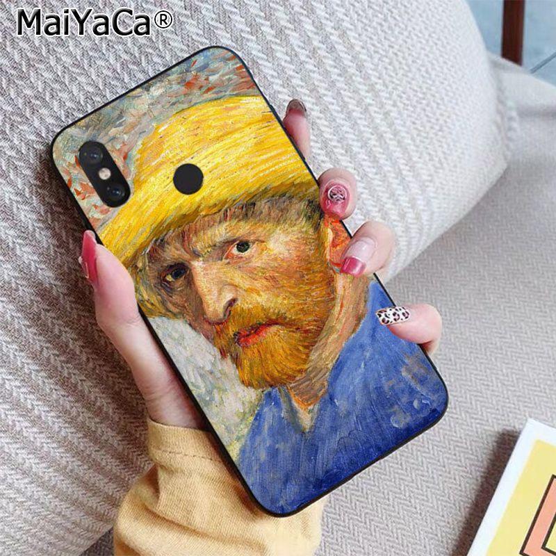 Scream by Munch Van Gogh sun Flower Scenery Palette