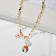 Модные серьги-подвески в форме сердца с жемчугом, карамельный тростник, висячие серьги для женщин, вечерние украшения в подарок на Новый год...(China)