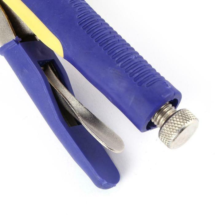 multi-functional c-type flat locking grip vise 091717