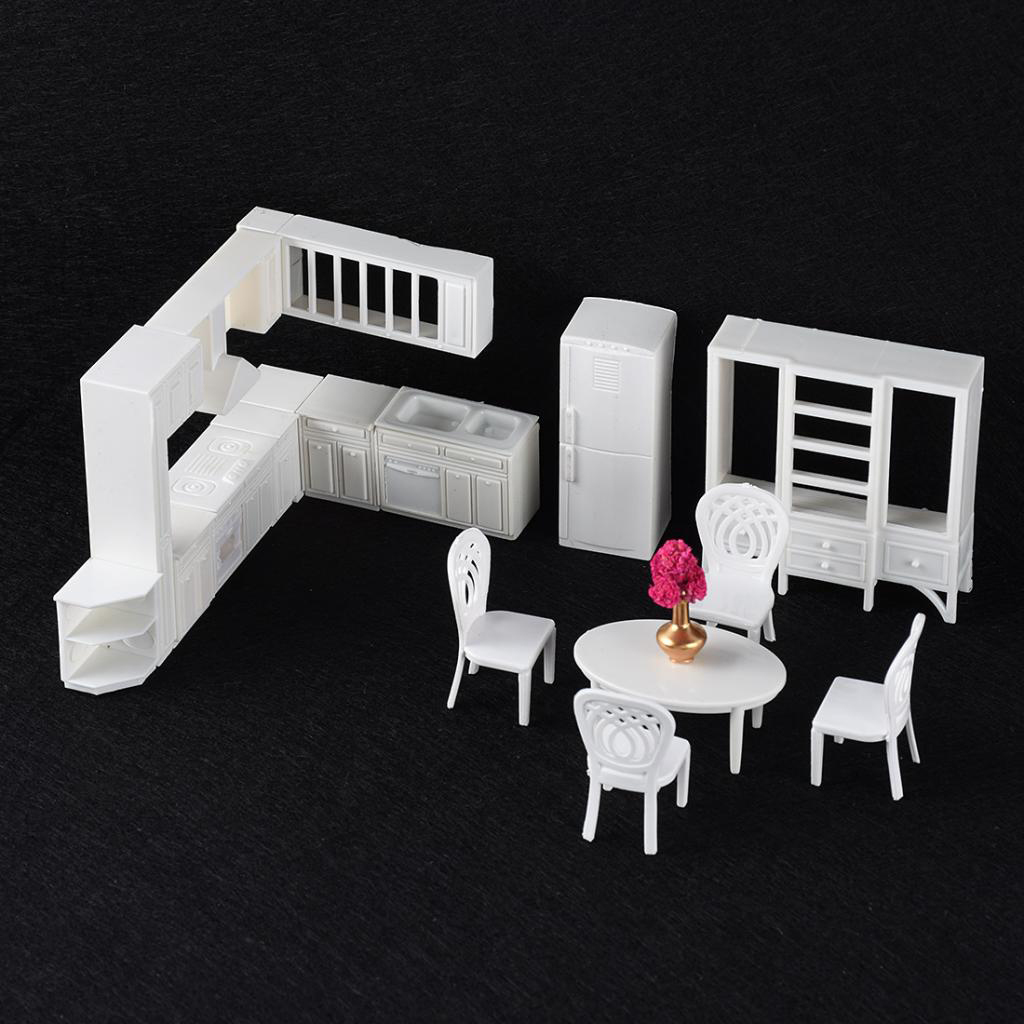 Miniature Chair 1:12 Scale Furniture Dollhouses Chairs Miniature Scenery Kitchen