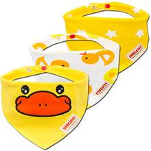 3 шт хлопок детские нагрудники шарф отрывистый ткань бандана нагрудники новорожденный мальчик младенец, девочка, малыш зимний шарф слюнявч...(China)