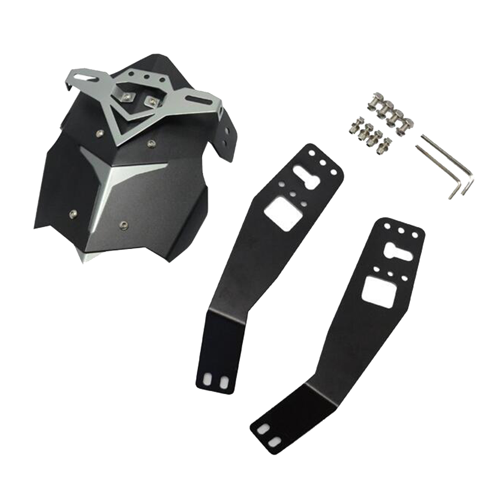 Motorcycle Aluminum Rear Wheel Mudguard Anti-Splash Guard Protector Cover with Bracket Replacement for Honda Grom MSX125