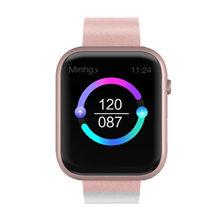 Venda quente sx16 inteligente pulseira relógio ip68 à prova dip68 água bluetooth tela colorida pulseira sono monitoramento de fitness atividade pedômetro(China)