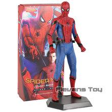 Louco brinquedos Doutor Estranho Capitão Marvel Thor Spiderman Homem De Ferro MK 45 Thanos Pantera Negra Figura PVC Brinquedo(China)