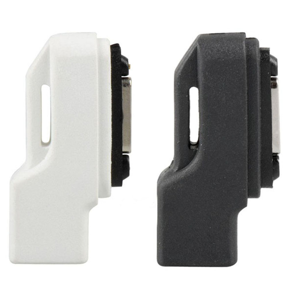 2 Pcs Magnetic Charging Dock Adapter For Micro USB Cable For Sony Xperia Z Ultra Z1/Z2/Z3 Etc