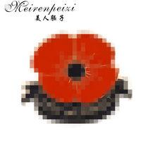 Meirenpeizi Red Poppy Pin Mengingat Minggu Bros Hari Veteran Kerah Pin Memorial Day Bunga Perhiasan(China)