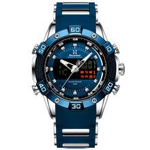 Readeel marque de luxe LED numérique Quartz hommes montres chronographe homme Sport montre étanche montre-bracelet relogio quartzo masculino(China)