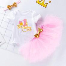 Одежда для маленьких девочек в рождественском стиле боди с короткими рукавами для малышей комбинезон с красными розами + повязка на голову +...(China)