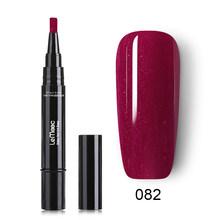 LEMOOC 5 мл Гелевый лак для ногтей ручка чистые цвета для ногтей гель для ногтей с блестками Гибридный лак для ногтей УФ-гель лак для ногтей(China)
