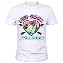 Star Wars Divertente T-Shirt di Moda Serie Evoluzione T Shirt Novità Maglietta Uomini Donne Geek Tee Può essere personalizzato(China)