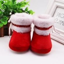 Weixinshop zapatos de invierno para bebés y niñas zapatos de abrigo para bebés de invierno de Rusia botitas de bebé para niñas de piel sintética bota masculina para bebé(China)