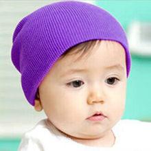 ฤดูใบไม้ร่วงฤดูหนาวผสมผ้าขนสัตว์ถักนุ่มอบอุ่นหมวกลำลองหมวก(China)
