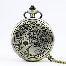 ブランドヴィンテージブロンズドクタークォーツ懐中時計(China)
