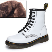 2019 Boots Women Genuine Leather Shoes For Winter Boots Shoes Woman Casual Spring Genuine Leather Botas Mujer Female Ankle Boots(China)
