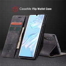 Funda de cuero Retro abatible para Huawei P Smart 2019 funda de cartera para Huawei P30 Lite P20 Pro Honor 10 Lite funda para teléfono 9 Lite(China)