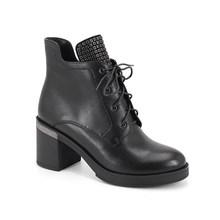 SOPHITINA Thời Trang Thiết Kế Đặc Biệt Giày Bốt nữ Da Thật Cao cấp Chính Hãng Giày Mũi Tròn Giày Thoải Mái Vuông Gót Giày SC343(China)