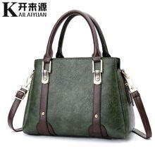 100% Bolsos De Mujer de cuero genuino 2019 nueva versión coreana de la bolsa de mujer dulce y elegante bolsa(China)